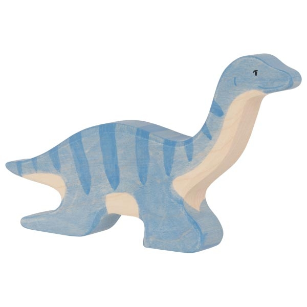 Figura legno Plesiosaurus - Holztiger