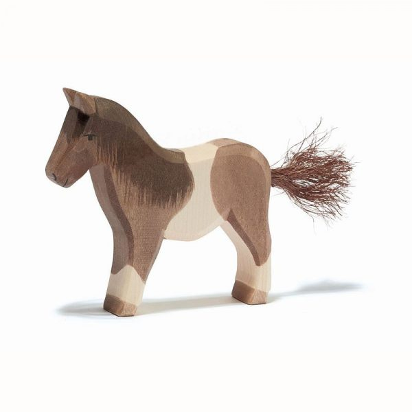 Figura legno Pony pezzato - Ostheimer