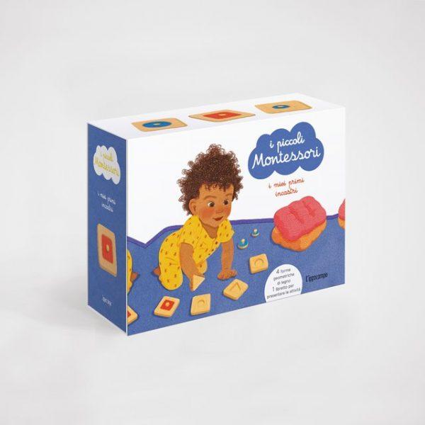 I piccoli Montessori. I miei primi incastri Ippocampo Edizioni