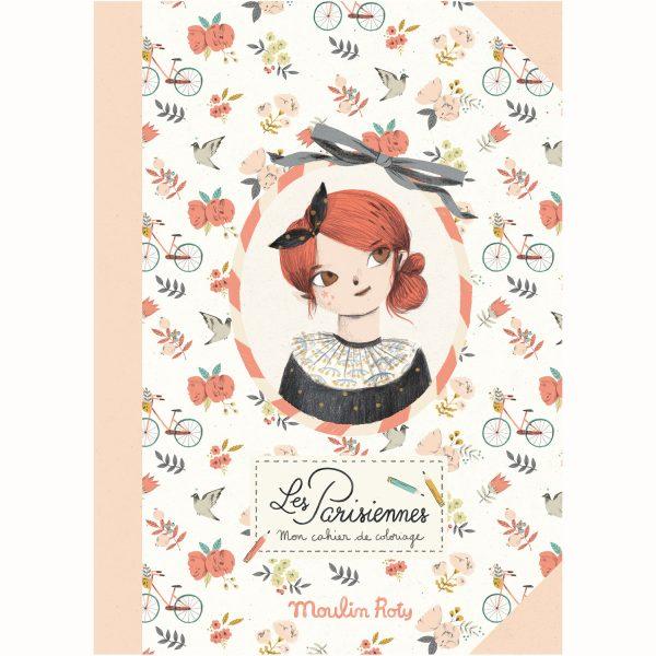 Quaderno attività da colorare Les Parisiennes Moulin Roty