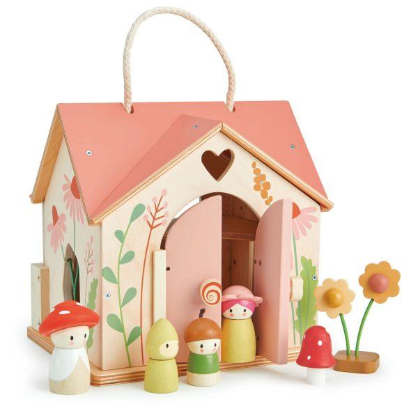 Casa delle bambole Rosewood Cottage Tender Leaf