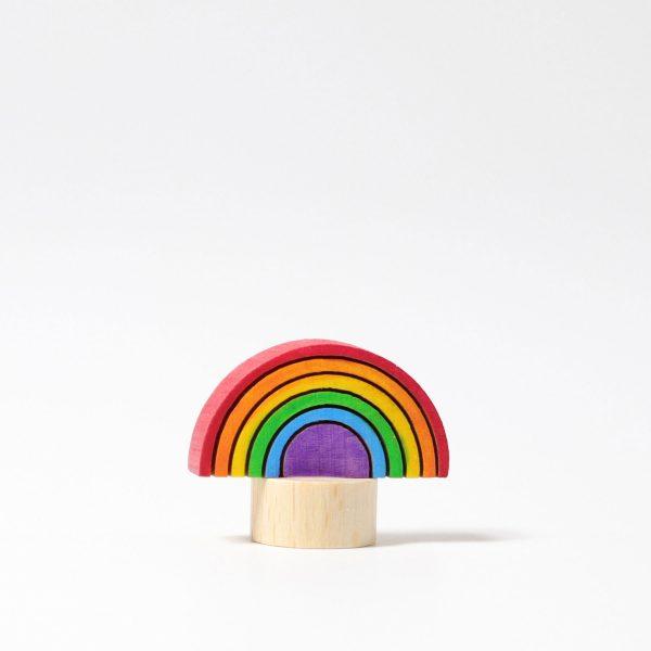 Figura decorativa legno arcobaleno Grimm's