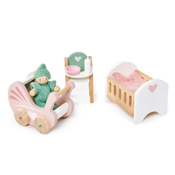 Set arredi nursery casa delle bambole Tender Leaf