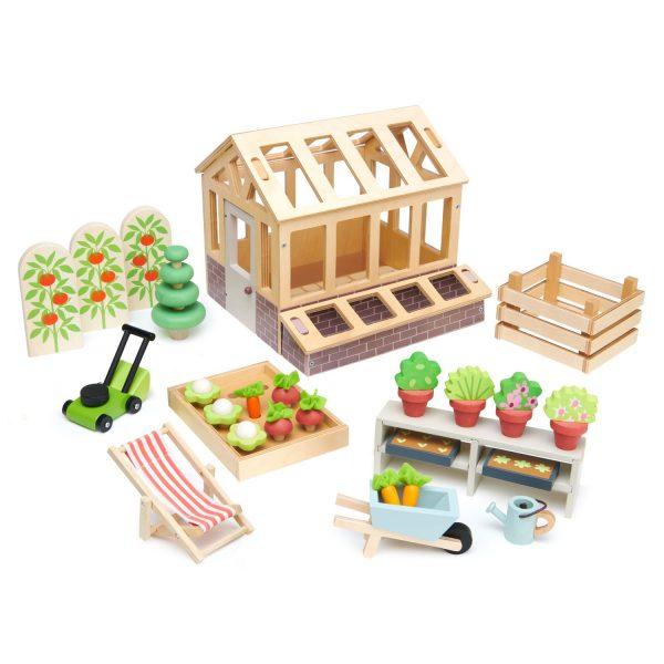 Set giardino Greenhouse and garden Cottage Tender Leaf