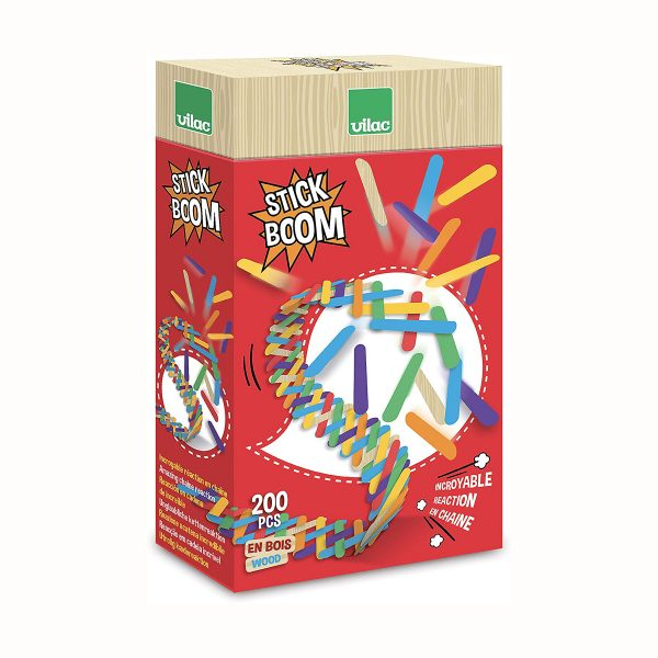 Set listelli Leonardo Stick boom 200 pezzi Vilac