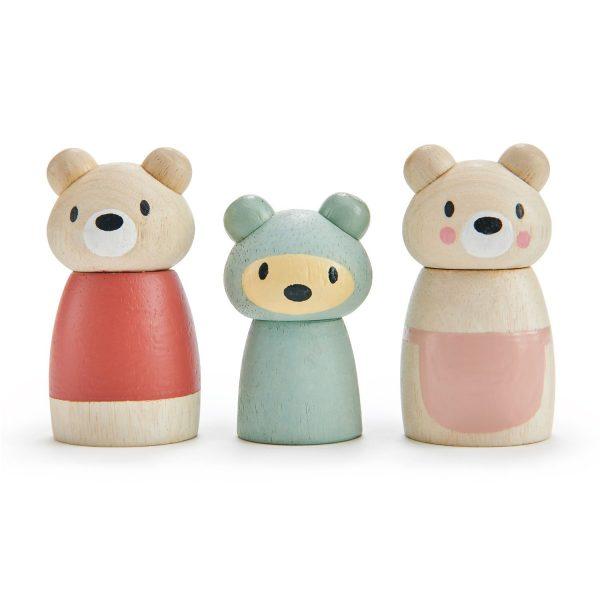 Tre personaggi Bear Tales Tender Leaf