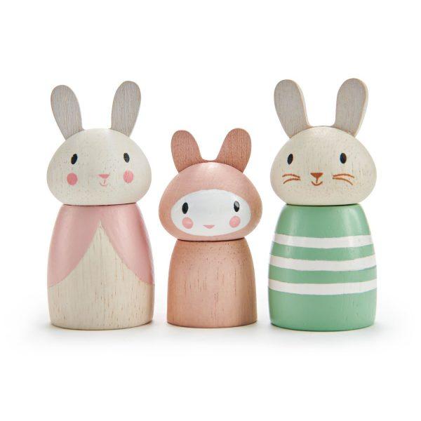 Tre personaggi Bunny Tales Tender Leaf