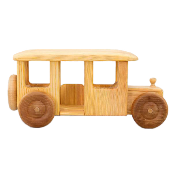 Bus legno massello Drei Blatter