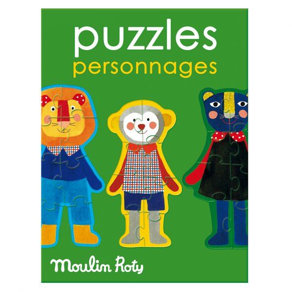 Gioco Puzzle personaggi Popipop Moulin Roty