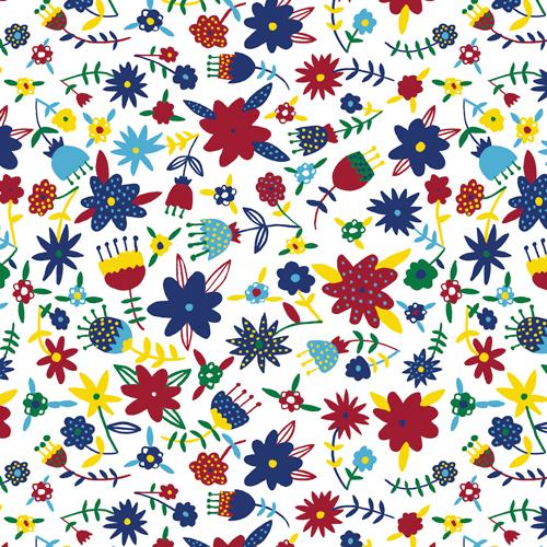 FLOWERS tessuto Cloud9 Fabrics