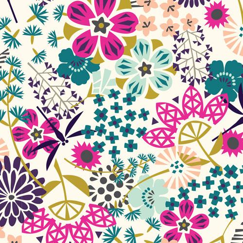 THE WAY OF FLOWERS tessuto Cloud9 Fabrics