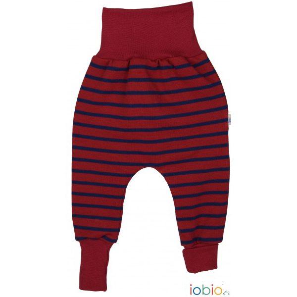 Pantaloni yoga righe rosse Popolini