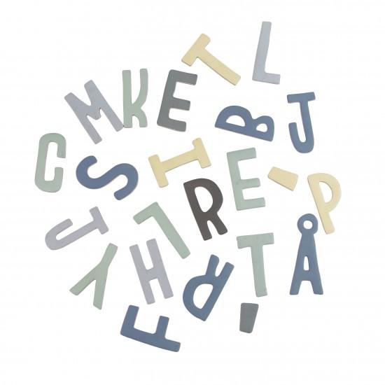Lettere magnetiche blue di Sebra