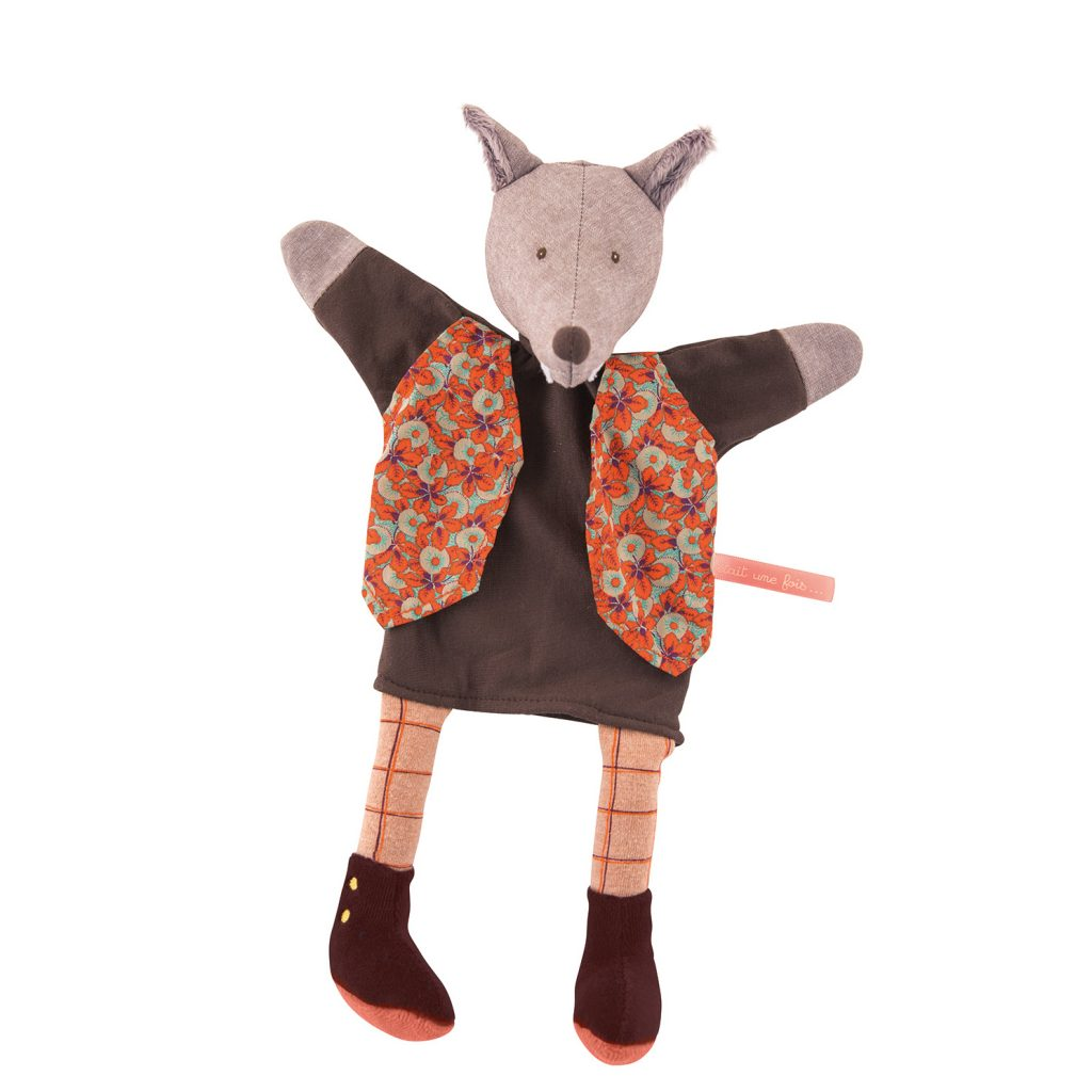 Marionetta Lupo Gentleman Moulin Roty