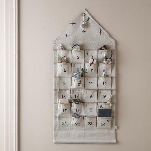 Calendario Avvento cotone telato Ferm Living
