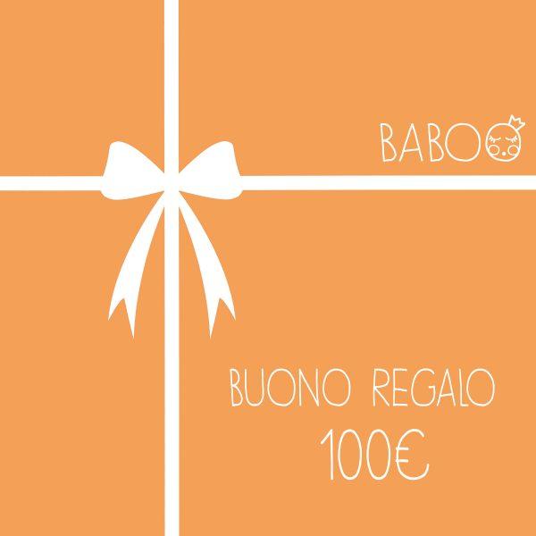 Buono regalo da Baboo 100€
