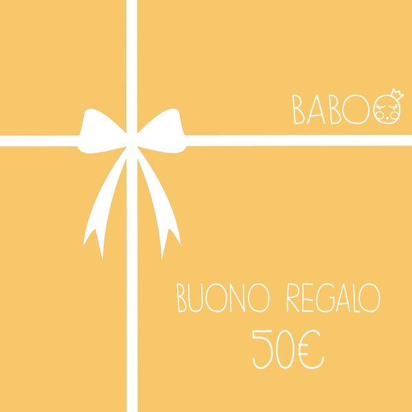 Buono regalo da Baboo 50€