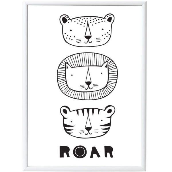 Poster Roar grandi felini