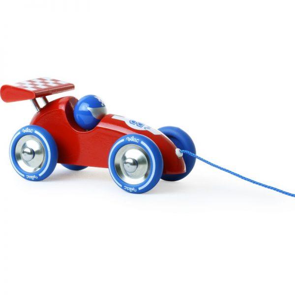 Gioco da trainare macchina corsa F1 rouge Vilac