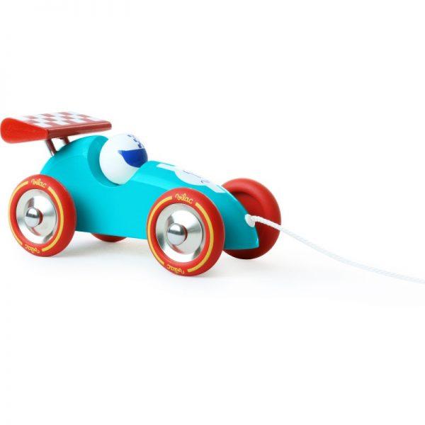 Gioco da trainare macchina corsa F1 turquoise Vilac
