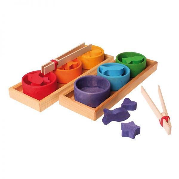 Gioco educativo classificazione colori Grimm's