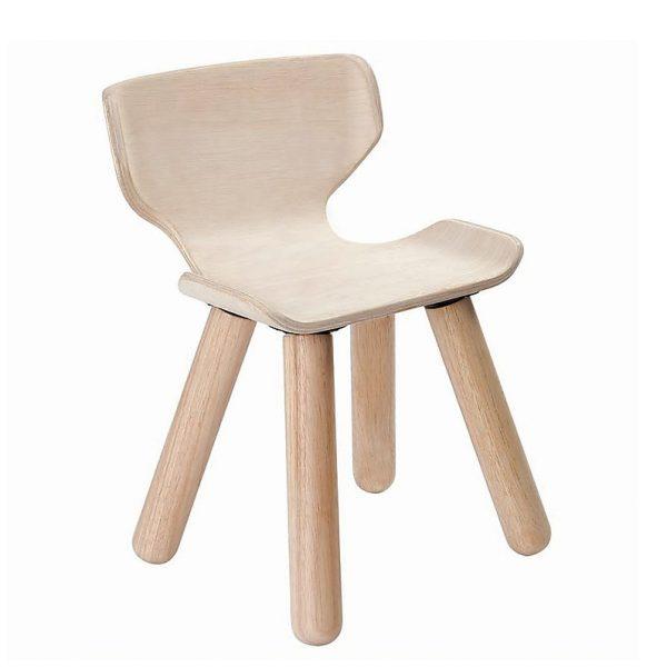 Sedia in legno bambini Plan Toys