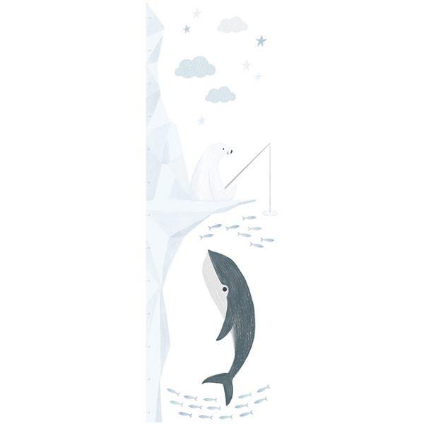 Misuratore altezza wallsticker Artic Dream Lilipinso