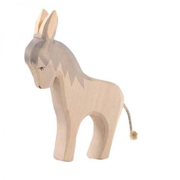 Figura legno asino grigio - Ostheimer