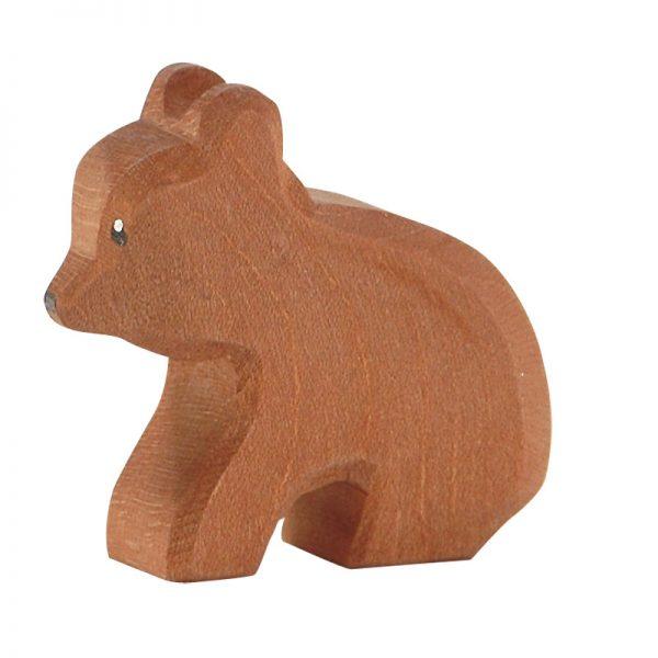 Figura legno piccolo Orso seduto - Ostheimer