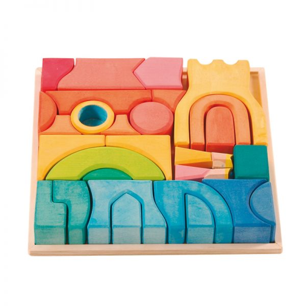 Set costruzioni Castello arcobaleno - Ostheimer
