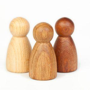 Set 3 Nins® essenze legno Grapat