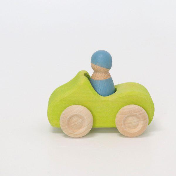 Macchina di legno - Piccola Cabrio verde Grimm's
