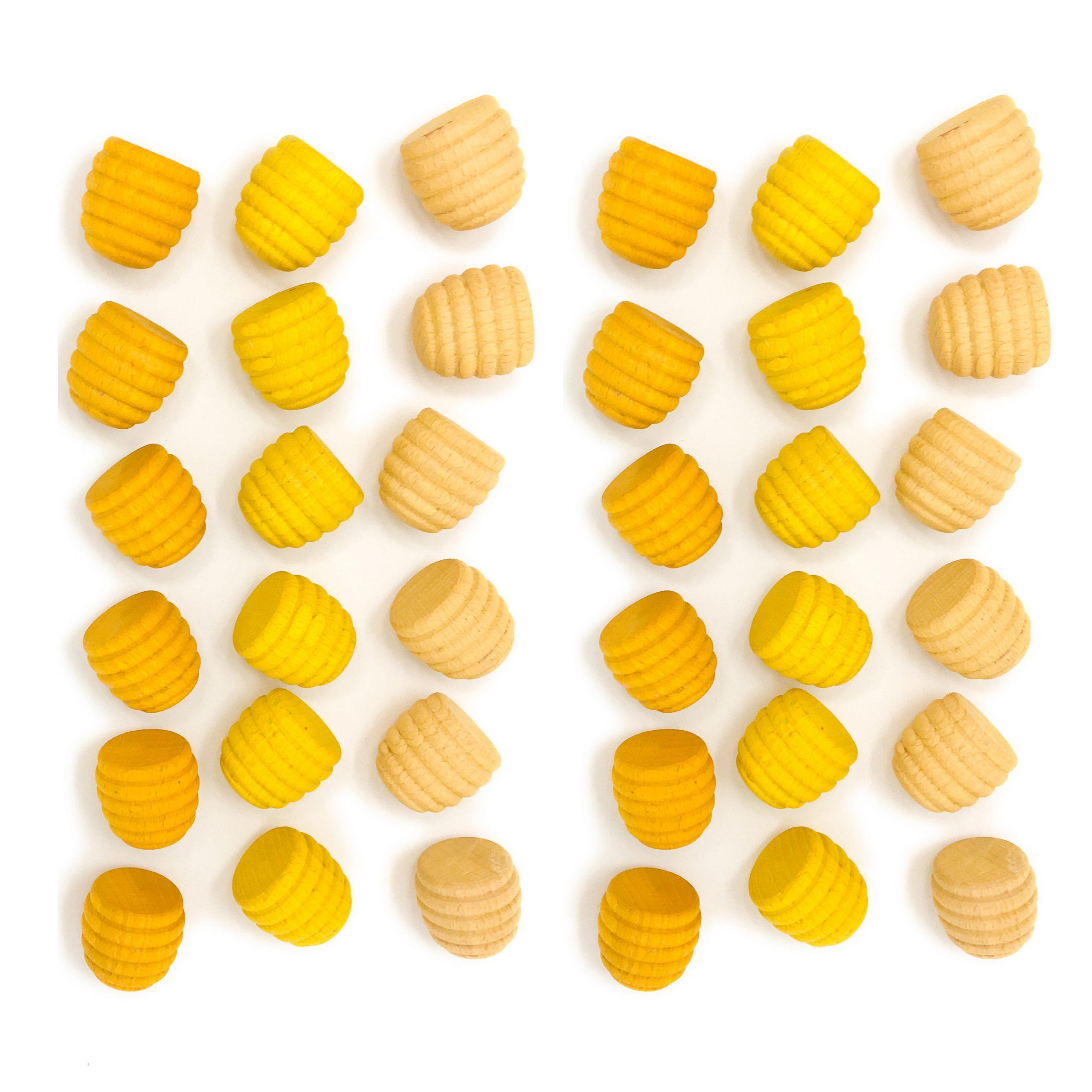 mandala-miele-giallo-waldorf-grapat