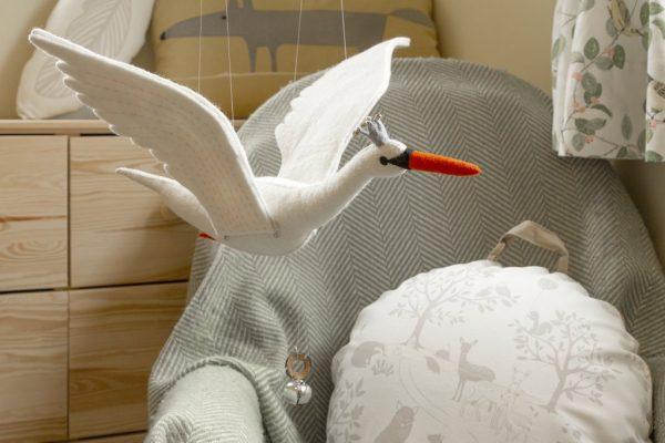 10056-Giostrina-Odette cigno-volante-Sew-Heart-Felt (5)