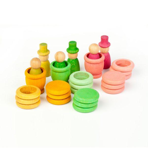 Nins® - Primavera - anelli monete e ciotole Grapat