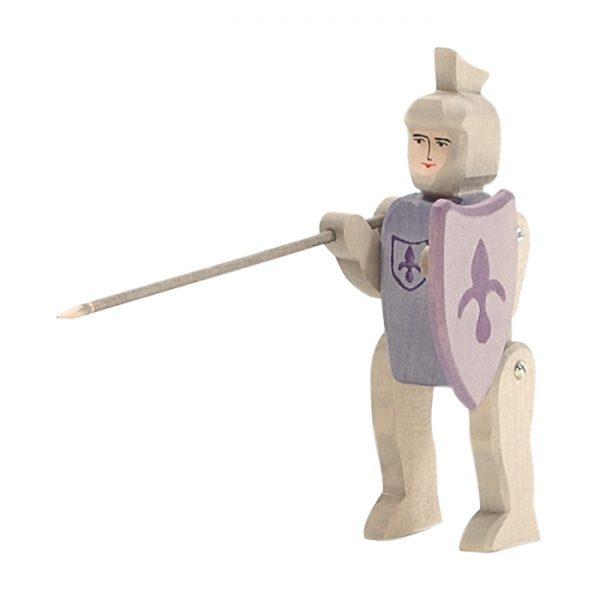 Figura legno Cavaliere del Giglio - Ostheimer