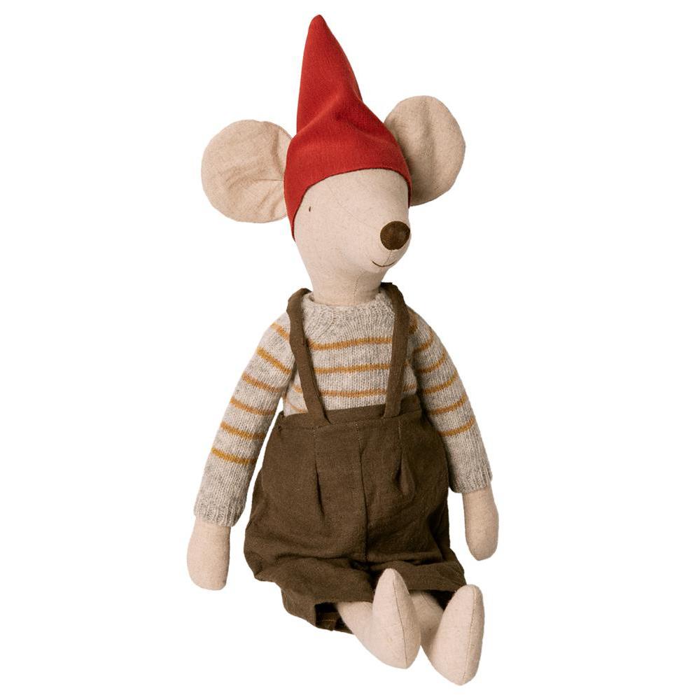 Pupazzo elfo di Natale Maxi Mouse boy Maileg