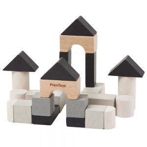 Mini game - Set Costruzioni monocrome Plan Toys