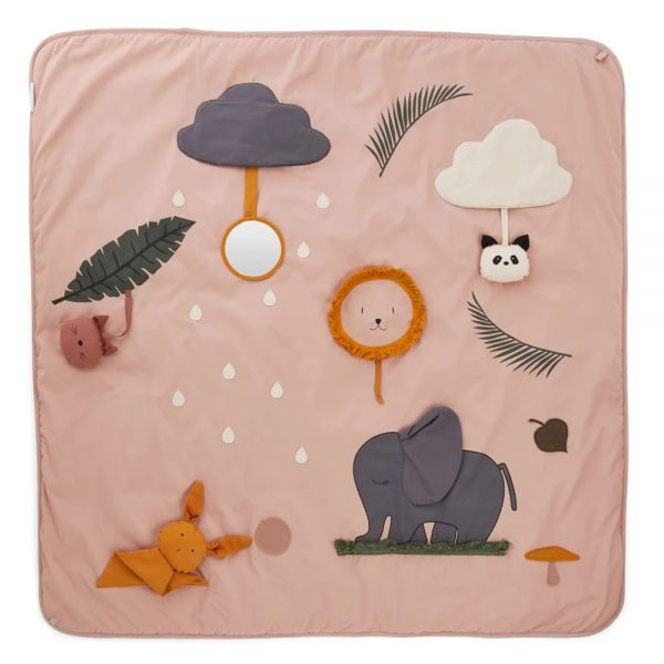 Tappeto attività Glenn Activity Blanket Rose LIEWOOD