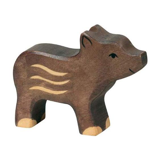 Figura legno piccolo Cinghiale - Holztiger