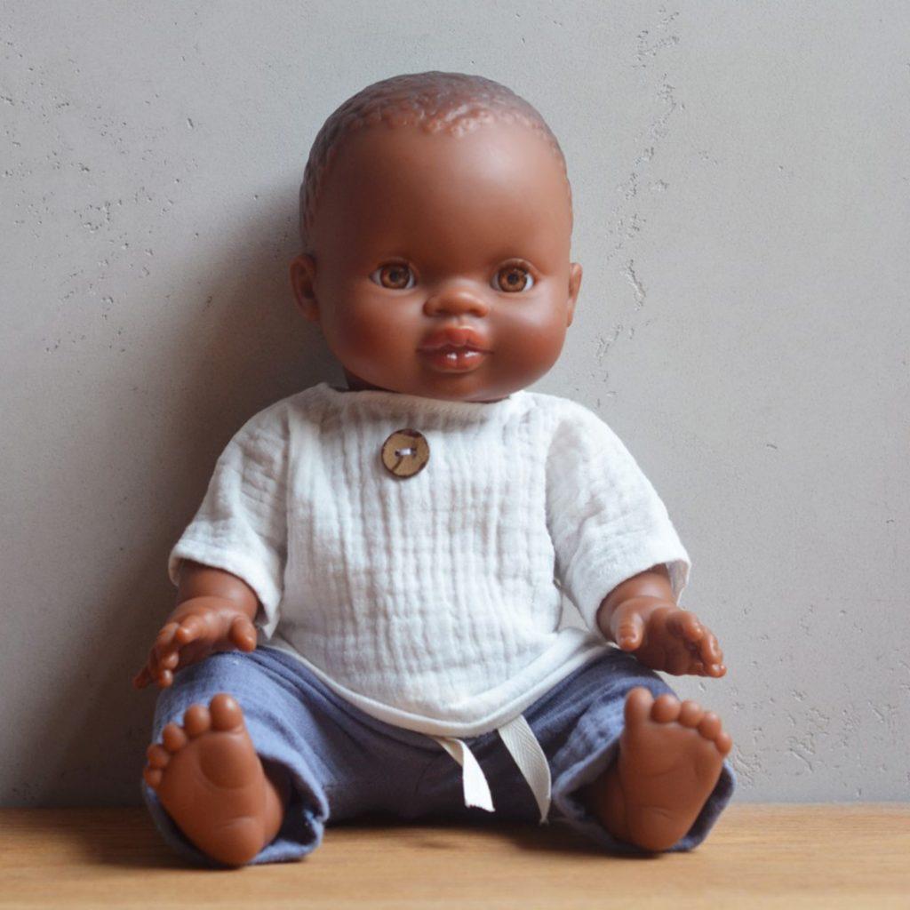 Bambola Gordis Milo 34 cm Paola Reina