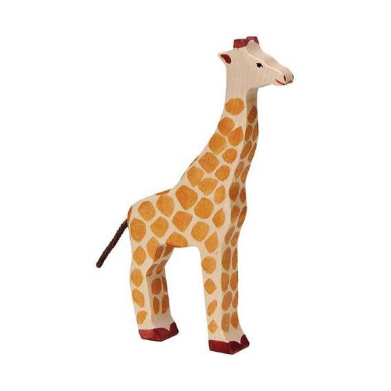Figura legno Giraffa grande - Holztiger