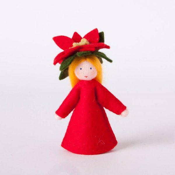 Figura Waldorf Fata Stella di Natale Ambro-dolls