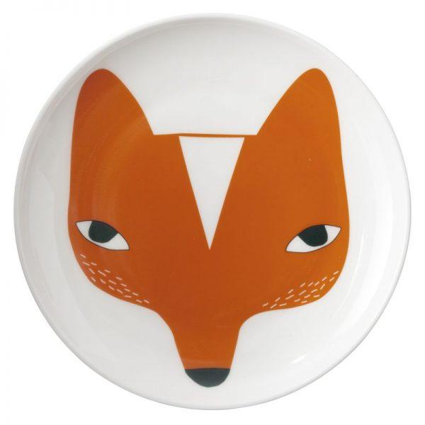 Piatto porcellana Fox Donna Wilson