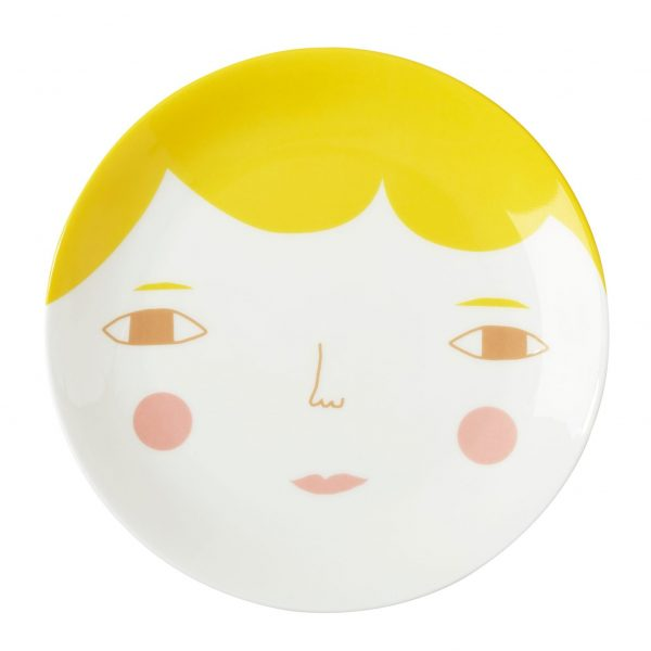 Piatto porcellana Goldie Donna Wilson