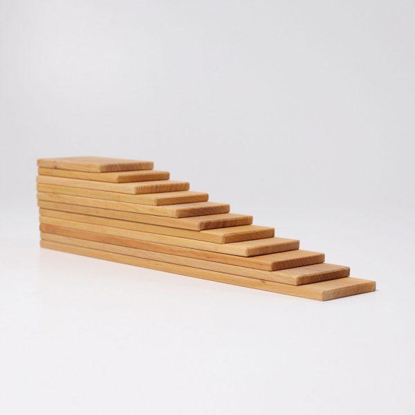Listelli legno naturale - Building Boards Grimm's