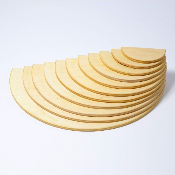 Semicerchi legno naturale Grimm's