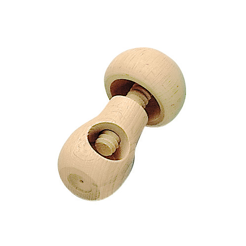 Materiale euristico schiaccia noci legno