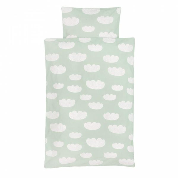 Set copripiumino Cloud Mint Singolo Ferm Living