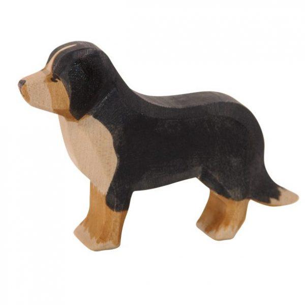 Figura legno cane Bernese - Ostheimer
